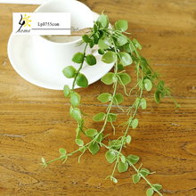 Free Shipping Artificial flowers and green plants fresh money single leaf clover grass fake grass Clover flower Clover