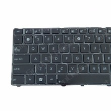 Brand New US English Layout Keyboard Replacement K50 K50A K50C K50I P50IJ With Frame