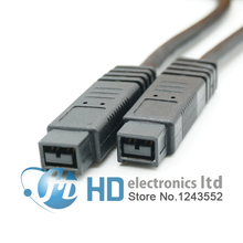 9 Pin 9pin Beta Firewire 800 Firewire 800 9 9 Cable IEEE 1394B 4ft 1.2m 1394 B connector cable(China)