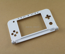 For Nintendo 3DS XL LL Replacement Hinge Part White frame Bottom Middle Shell / Housing high quality