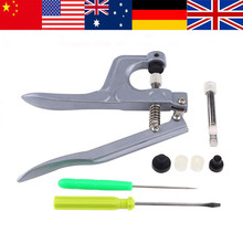 WALFRONT Fastener Plier Buckle Clasp Clamp Cloth Diaper Snap Pliers Plastic Resin DIY Sewing Buttons Hand Press Stud Tools Set(China)