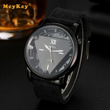 Mcykcy Fashion Sports Watch Quartz Outdoor Business  Analog Wristwatch Clock Casual for Men Luxury Silver Men Watches Gift MY026
