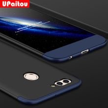 UPaitou 360 Degree Full Cover Cases For Huawei Nova 2 Case 3 in1 PC Hard Case Protection Ultra Thin Cover For Huawei Nova2 Cover(China)
