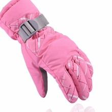 Women Men Warm Ride Thick Gloves Skiing Gloves TPU Bag Waterproof Motorcycle Winter Snowmobile Snowboard Ski Gloves(China)