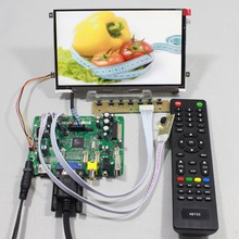 HDMI VGA AV FPV Controller board with 7inch HV070WS1 105 1024x600 IPS lcd panel for raspberry