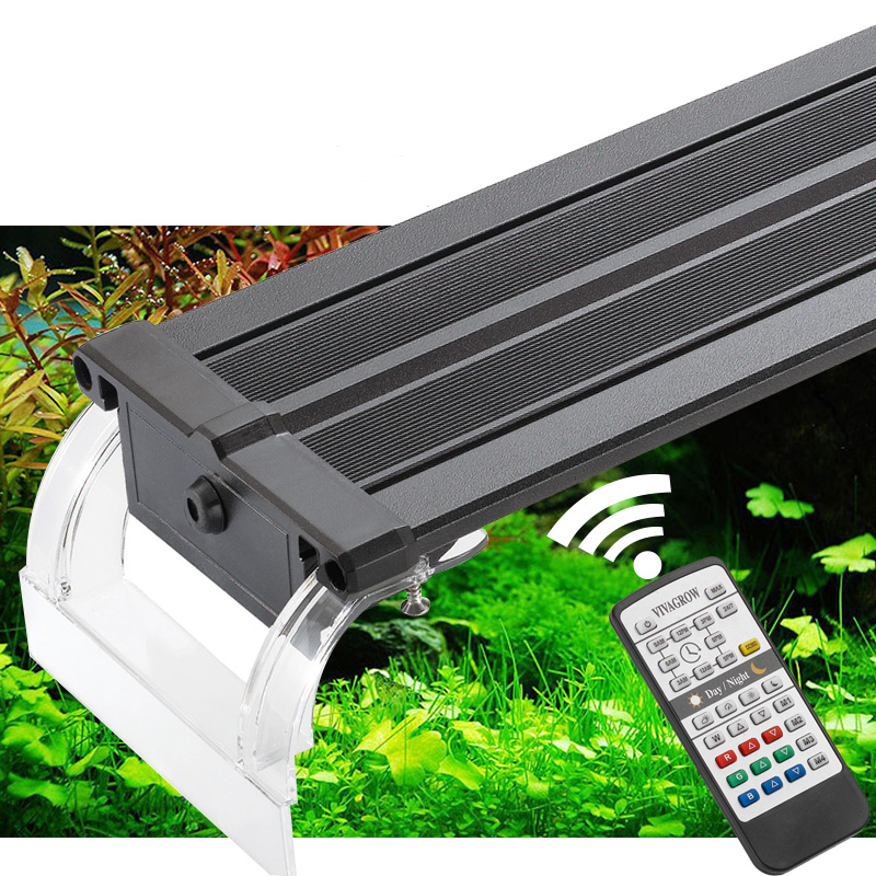 "24"" ODYSSEA VIVAGROW DN60 DayNight RGB LED Aquarium Lighting Freshwater Plants Grow Light 24/7 Remote Automation(China (Mainland))"