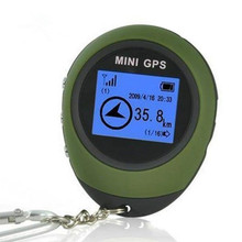 Mini GPS Receiver Tracker+Location Finder Keychain USB Rechargeable for Outdoor  for Outdoor Practical Travel Car