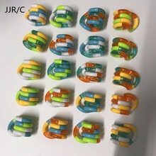 JJR/C Fidget Anti Stress Toy Twist Adult Decompression Toys Child Deformation Rope Mobile Phone Packet Bag Pendant(China)