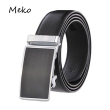 Genuine Leather Designer Belts for men automatic buckle Leather belt men's belts male waistband ceinture,cinto masculino B20-26(China)
