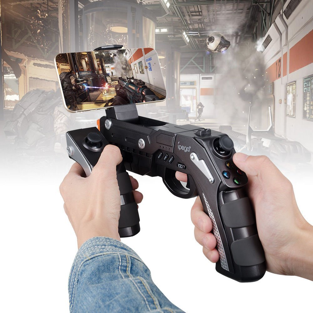 Ipega PG-9057 Bluetooth Wireless Game Controller Gun  (5)