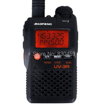 Baofeng UV-3R Two Way Radio Portable Mini Walkie Talkie For Mobile Radio Dual Band Walky Talky UHF/Vhf Radio FM Transceiver(China)