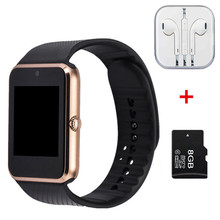 Hot Smart Watch GT08 Clock Sync Notifier support SIM TF Card Connectivity Apple iphone Android Phone Smartwatch PK dz09 u8 gd19 - Good Quality Store store