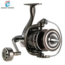 Professional Metal Fishing Reel Exchangeable Handle 13+1BB Ball Bearings Aluminum Alloy Fishing Reel Spinning Reel Left/Right