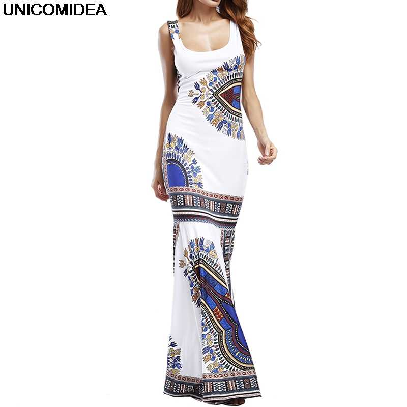 ed9783ff1f2 Sleeveless Summer Beach Dress Women Strand Jurkjes Pack Hip Wrap Dress Robe  Vintage Sundress Long Bodycon