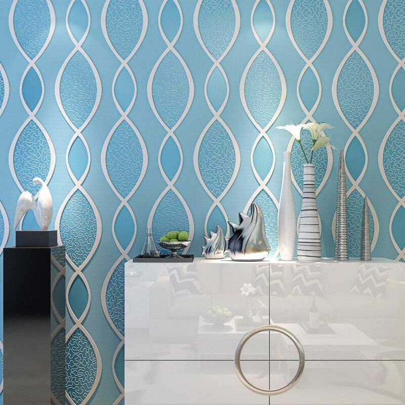 Modern non-woven wallpaper 3D corrugated bedroom 3D Effect Brick Wallpaper For Walls Living room Background Covering wallpaper <br>