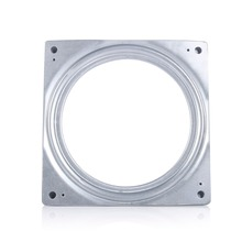 "6"" Square Rotating Swivel Plate Metal Lazy Susan Bearing Turntable TV Rack Desk Tool"