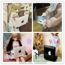 New Arrival Doll Mini laptop Doll Scene Decoration Doll mini computer (suitable for blyth, Azone,BJD,High monster)
