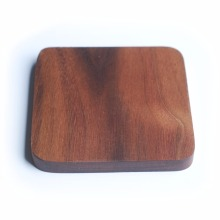 Customized services - LOGO - SIZE - SHAPE - Solid wood Coaster Black walnut wood Round Placemats Natural Style Boutique Luxury