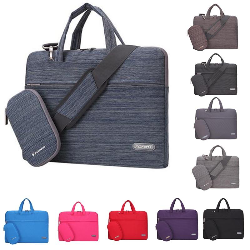 Laptop Shoulder Bag Women Men Notebook Sleeve Messenger HandBag Briefcase Carry Bag for Macbook/Lenovo 11 13 14 15 Inch Case<br><br>Aliexpress
