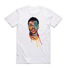 Impresión CHANCE el rapper hip hop rap ácido blanco camiseta verano o  cuello manga corta streetwear hombres mujeres camiseta cam. 84d3c5a6843