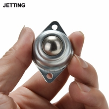 JETTING High Quality Roller Ball Bearing Metal Caster Flexible Move Stable Metal Round Ball Furniture Caster 48*32*22mm
