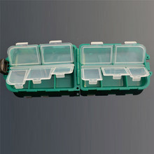 10 Grid Fishing Gear Box Bait Bait Hook Storage Small Box Hook Box Portable Storing Sports & Outdoors Fishing Accessories Mar 6(China)