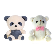 25-30cm Large LED Colorful Glowing Teddy Bear Panda Stuffed Toy Cute Cartoon Animal Doll Toys Gifts