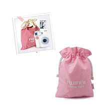 High Quality Pink Film Instant Camera Bag Portable Cute Storage Bag For Fuji Fujifilm Instax Mini 7 7s 8 25 50s 90 #OR57