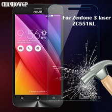 "9H Tempered Glass Premium Screen Protector For Asus Zenfone 3 Laser ZC551KL 5.5 "" Inch Anti-Explosion Protective Film Wholesale(China)"