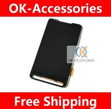 Black Color For  HTC HD2 T8585 T8588 LCD Display +Touch Screen Digitizer  1PC/Lot