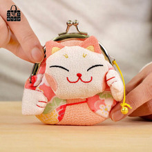 RoseDiary National wind Handmade cloth art buckles zero wallet Women lady Wallets,students&girl Wallet children coin Purse bag