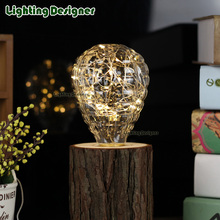 twinkle star fairy light bulb led rgb 3W 220V E27 holiday party decor bulb table lamp night lights Special Shaped LED Bulb(China)