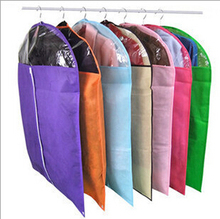 wholesale 50pcs non-woven colorful clothing, gold dust cover suit cover(China)