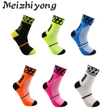Professional Cycling Socks Men's Calcetines Ciclismo Hombre Women's Bicycle Meias Compression Basketball Soccer Running Socks(China)