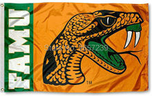Florida A&M Rattlers FAMU University Flag 3x5FT NCAA banner 100D 150X90CM Polyester brass grommets custom66,free shipping