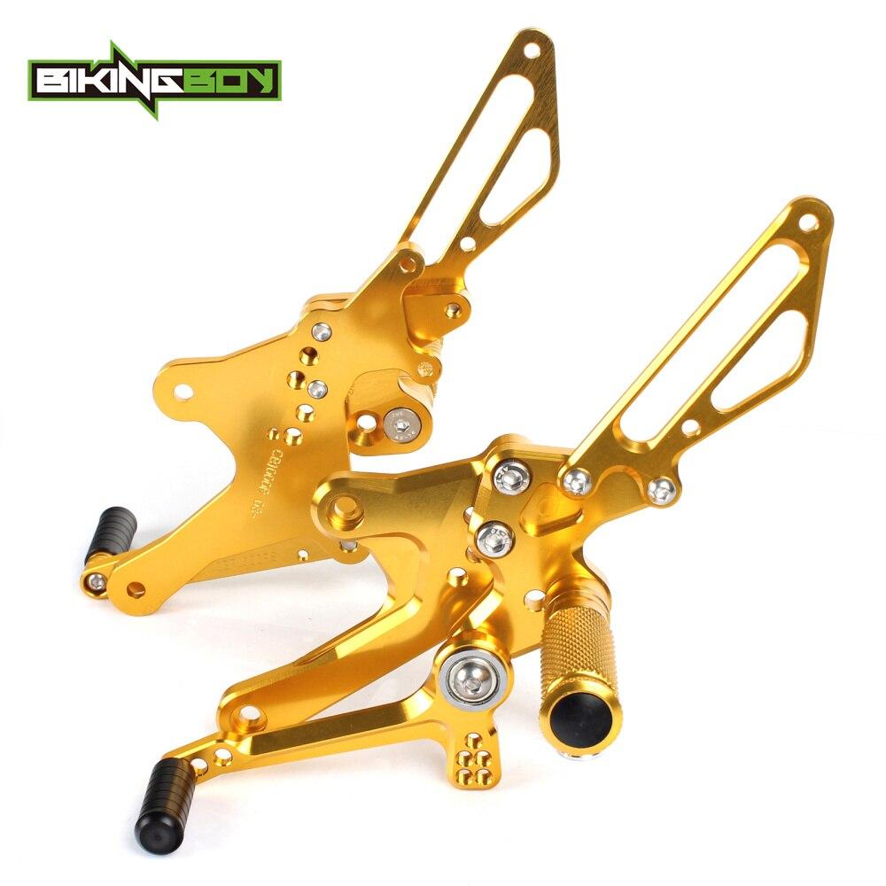 Gold Rear set control kits for Honda CB1000R 08- (1)