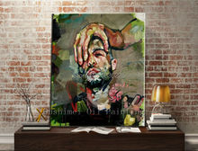 famous painter to face paint face painting modern abstract oil paintings painting on canvas for sale wall art decor