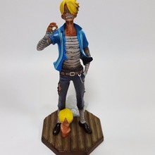 One Piece Action Figures Sanji Sky Piea PVC Model Toys 240mm One Piece Anime Juguetes Sky Piea Sanji(China)
