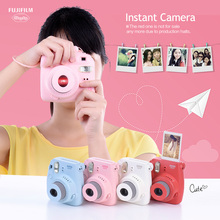 Fujifilm Instax Mini 8/9 Instant Camera Film Photo Camera Pop-up Lens Auto Metering Mini Camera with Strap 4 Colors Cute Gift(China)