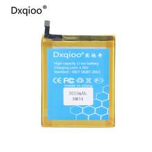 Dxqioo Mobile phone battery fit for xiaomi mi note 4gb ram mi note pro bm34 batteries(China)