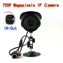 ONVIF 2.0   720P HD 1.0MP IP Camera 36LED With IR-Cut Filter Waterproof Outside Network Camera Support Smart Phone View