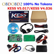 KESS V2 V4.036/KESS V5.017 OBD2 Manager Tuning Kit No Token Limit KESS V2 Master Version Add BDM Function Use Online KESS 5.017