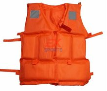 30pcs/lot X life jacket Foam Swimming Life Jacket Life Vest adult with whistle Flotage of inflatable boats ES1022(China)