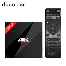 Docooler H96 Pro Plus + Android 7.1 TV Box 3G/32G Amlogic S912 Octa Core 64Bit 2.4G/5G Wifi 4K BT4.1 HD Media Player Set Top Box(China)