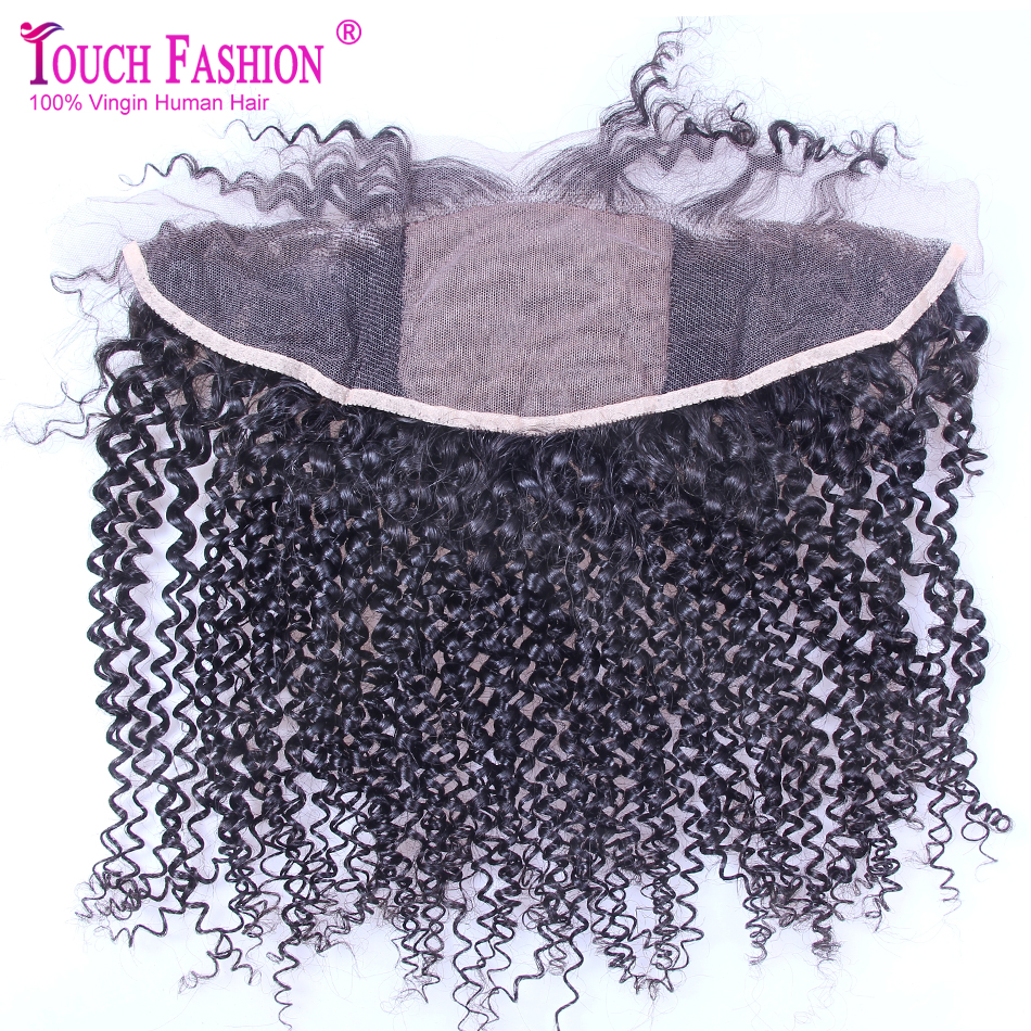 Brazilian Virgin Hair Silk Top Lace Frontal with Baby Hair Kinky Curly Silk Base Lace Frontal Closure 13 * 4 Virgin Lace Frontal<br><br>Aliexpress