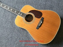 7 Strings Acoustic Guitar Natural With Fishman Pickups In Stock Free Shipping