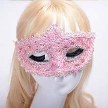 Newest Lace Masks Masquerade Lace Women Mask for Party,Ball,Prom,Mardi Gras Mask Dance Hot Masks Accessories 10 Colors