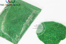 0.2mm Laser Green Color Glitter Powder Shining Dust(China)