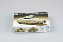 TRUMPETER 07295 1/72 M2 Bradley Infantry Fighting Vehicle Assembly Model kits scale model 3D puzzle vehicle model(China)