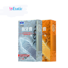 24pcs/2box 3D Dotted G Spot Condom for Men Camisinha Penis Sleeves Latex Ultra Thin Comdoms Fruit Flavour Contex D Sex Products(China)